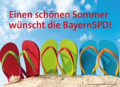 Einen sch�nen Sommer w�nscht die BayernSPD!